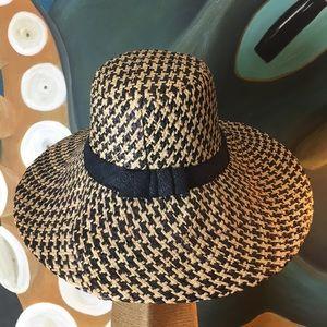 Accessories - Raffia Wide Brim Hat